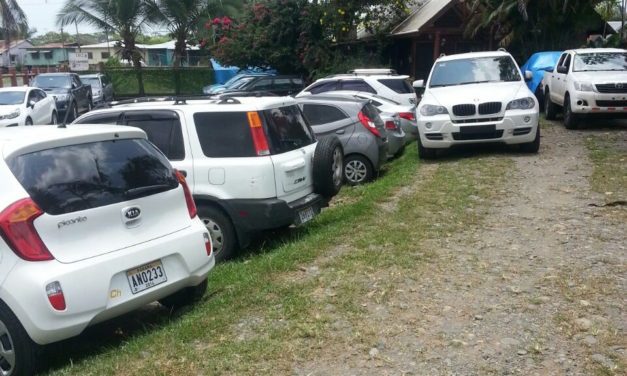 Leiza's Secure Parking in Almirante, Bocas del Toro